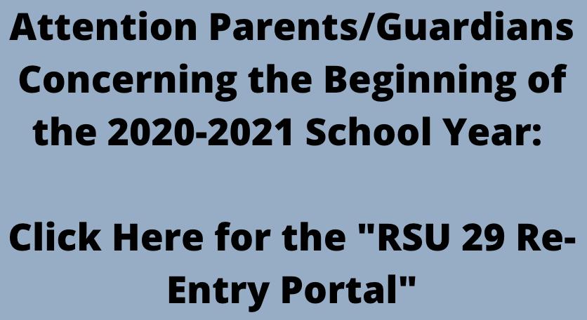 2020 Re-Entry Plan